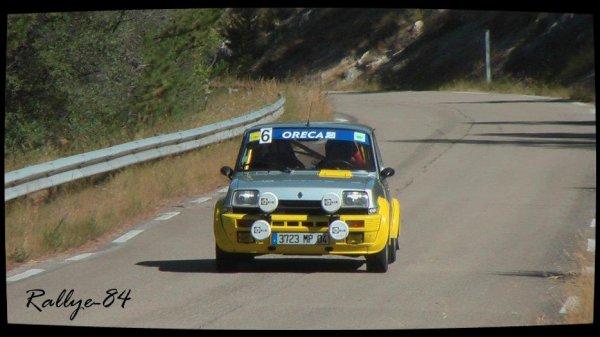 Montée de Reilhanette 2012 - Aumagy/Renault 5 Alpine