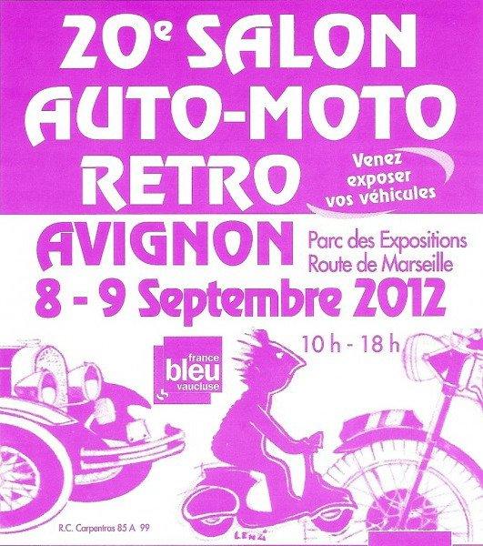 Salon Auto-Moto rétro 2012