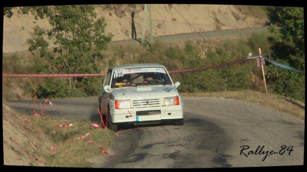 Rallye du Picodon 2012 - Chaix/Samba rallye