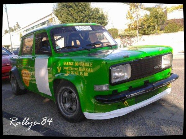 Rallye du Picodon 2012 - Triolet/Simca Rallye III
