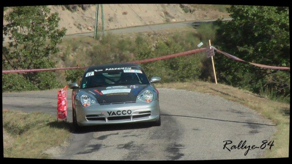 Rallye du Picodon 2012 - Panagiotis/Porsche 996 Gt3