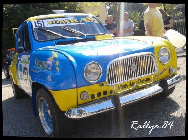 Rallye du Picodon 2012 - Sanchez/Renault 4L
