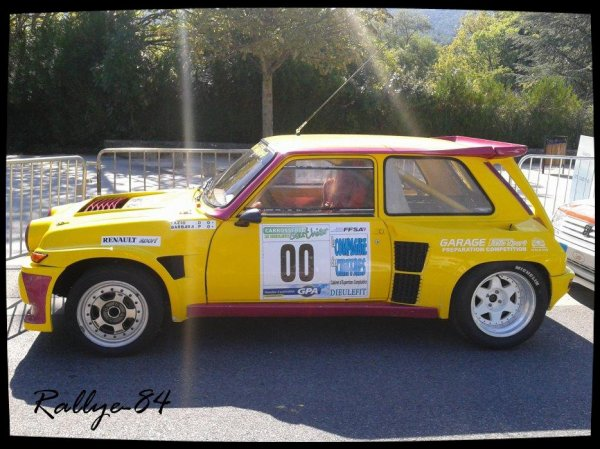 rallye du picodon 2012 fazio renault 5 turbo 2 1oo rallye. Black Bedroom Furniture Sets. Home Design Ideas