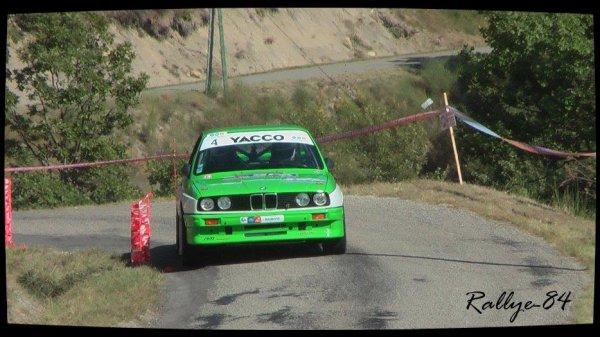 Rallye du Picodon 2012 - Poudrel/BMW M3