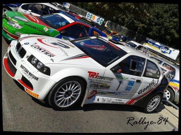 Rallye du Picodon 2012 - Troussier/BMW Compact