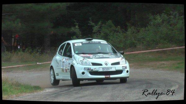 Rallye Mauves-Plats 2012 - Boyer/Renault Clio R3