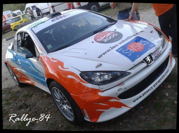 Rallye Mauves-Plats 2012 - Bonnefond/Peugeot 206 cc