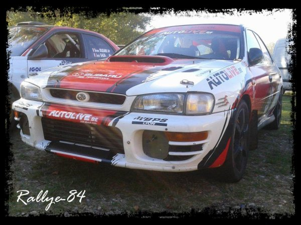 Rallye Mauves-Plats 2012 - Rabilloud/Subaru Impreza