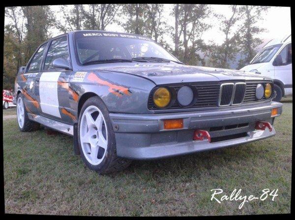 Rallye Mauves-Plats 2012 - Epale/BMW M3