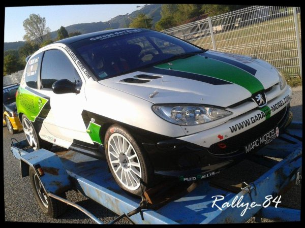 Rallye Mauves-Plats 2012 - Peugeot 206