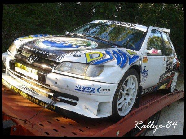 Rallye Mauves-Plats 2012 - Pezzutti/Peugeot 306 Maxi