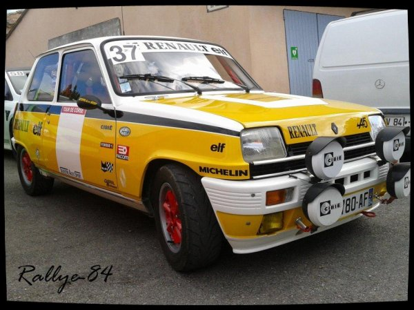 Montée historique de Blauvac 2012 - Renault 5 Alpine