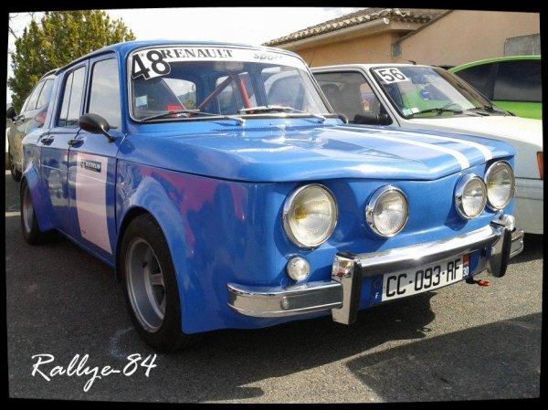 Montée historique de Blauvac 2012 - Renault 8 Gordini