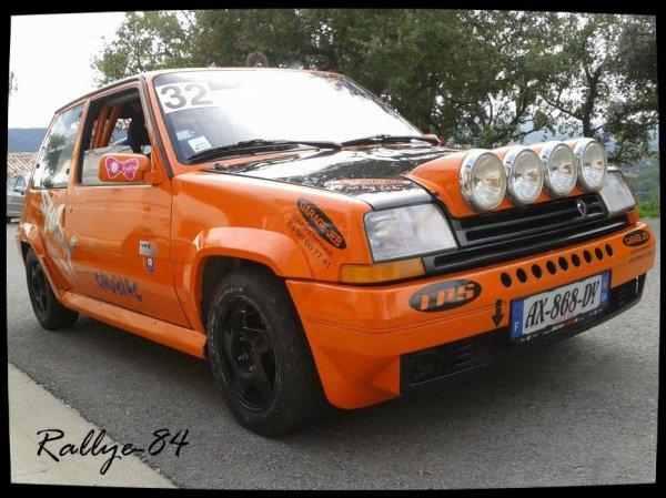Montée historique de Blauvac 2012 - Renault 5 GT Turbo