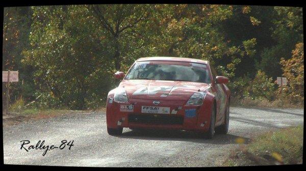 Finale coupe de France des rallyes Gap 2012 - Boissou/Nissan 350z