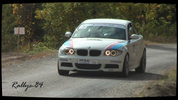 Finale coupe de France des rallyes Gap 2012 - Rizo/BMW 135