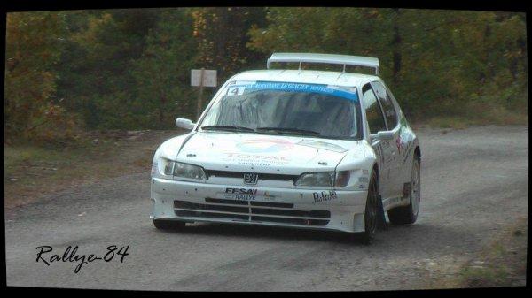 Finale coupe de France des rallyes Gap 2012 - Clairet/Peugeot 306 Maxi