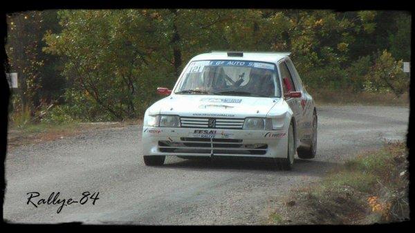 Finale coupe de France des rallyes Gap 2012 - Alaize/Peugeot 205