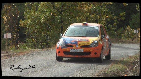 Finale coupe de France des rallyes Gap 2012 - De Sousa/Renault Clio R3