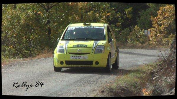 Finale coupe de France des rallyes Gap 2012 - Oberti/Citroën C2 R2