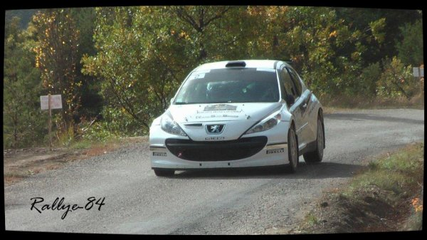 Finale coupe de France des rallyes Gap 2012 - Monnet/Peugeot 207 S2000