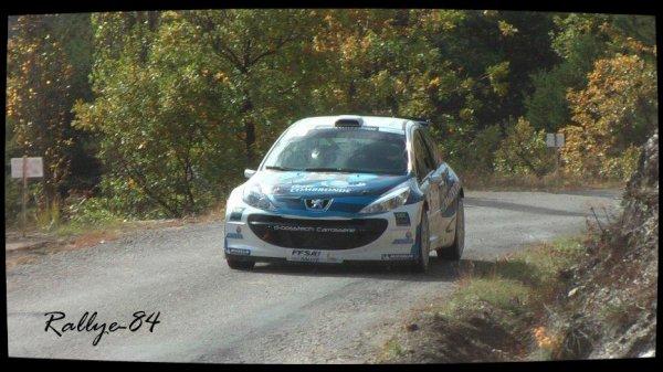 Finale coupe de France des rallyes Gap 2012 - Giraldo/Peugeot 207 S2000