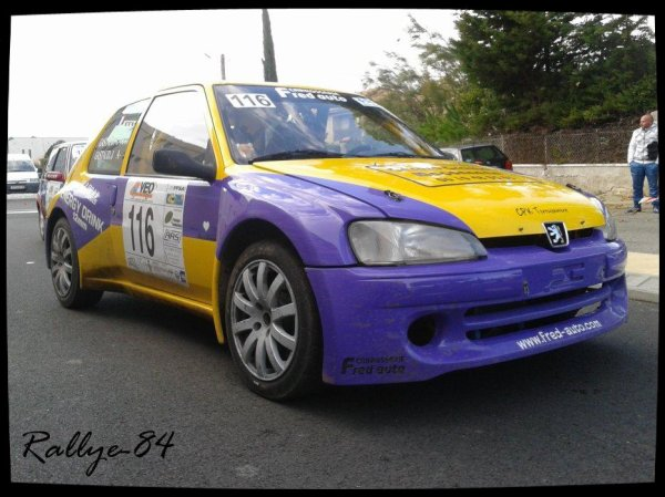 Rallye de Sarrians 2012 - Gastaud/Peugeot 106 Kit-Car