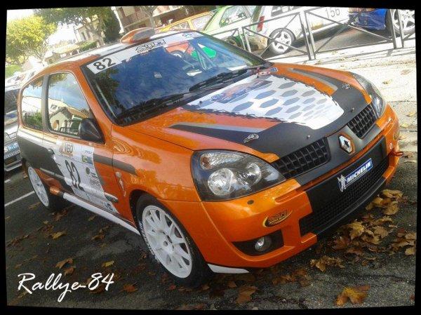 Rallye de Sarrians 2012 - Cerutti/Renault Clio Ragnotti