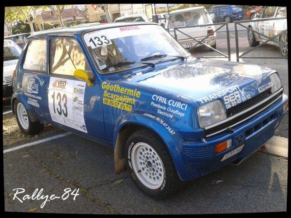 Rallye de Sarrians 2012 - Gros/Renault 5 Alpine