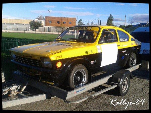 Rallye de Sarrians 2012 - Padilla/Opel Kadett