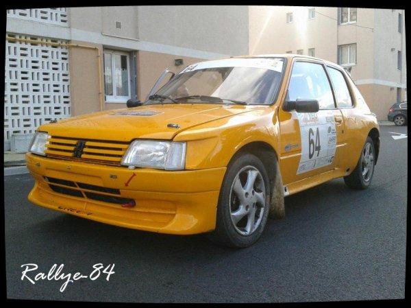 Rallye de Sarrians 2012 - Gomes/Peugeot 205