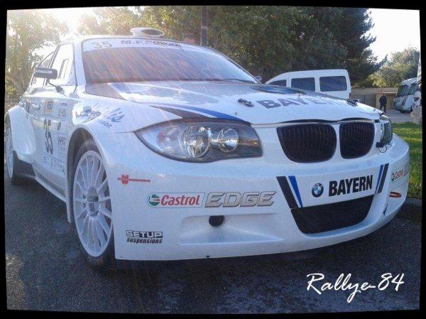 Rallye de Sarrians 2012 - Melchiorri/BMW 120i