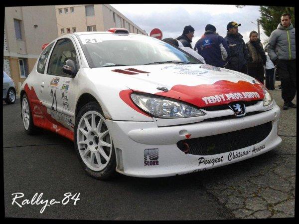 Rallye de Sarrians 2012 - Gras/Peugeot 206 S1600