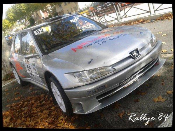Rallye de Sarrians 2012 - De Vita/Peugeot 306