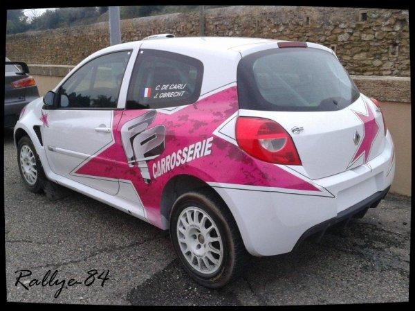 Rallye Terre de Vaucluse 2012 - Clio R3