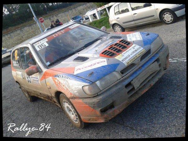 Rallye Terre de Vaucluse 2012 - Nissan Sunny