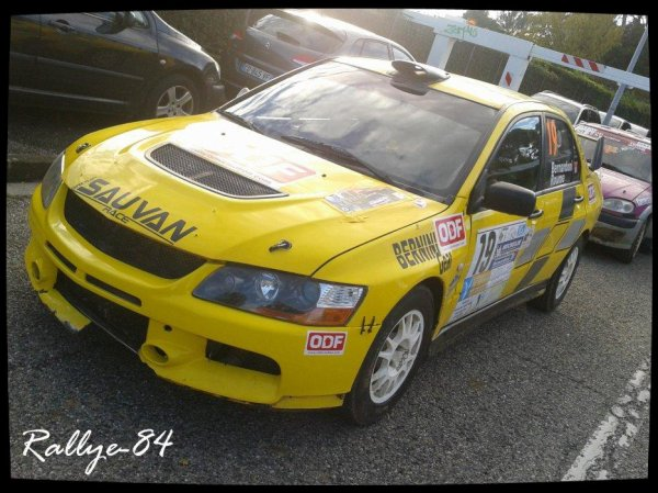 Rallye Terre de Vaucluse 2012 - Bernardoni/Mitsubishi Lancer Evo9