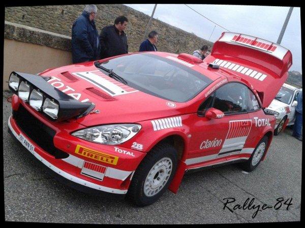 Rallye Terre de Vaucluse 2012 - Chieusse/Peugeot 307 Wrc