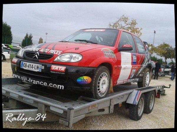 Rallye Terre de Vaucluse 2012 - Citroën T4
