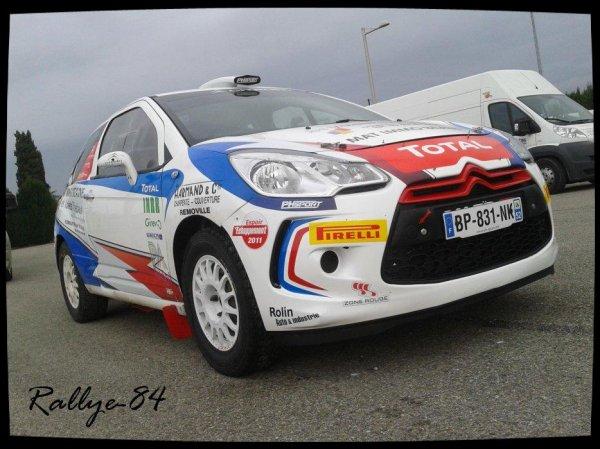 Rallye Terre de Vaucluse 2012 - Gilbert/Citroën DS3