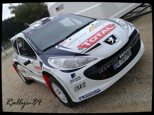 Rallye Terre de Vaucluse 2012 - Bonnefis/Peugeot 207 S2000
