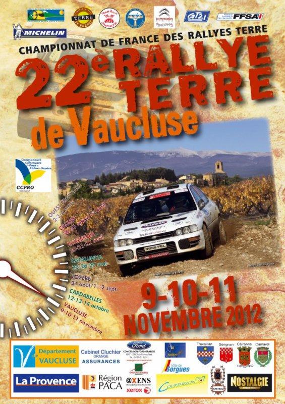 Rallye Terre de Vaucluse 2012