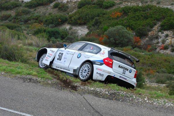 Rallye du Mistral 2012 - Quelques frayeurs ...