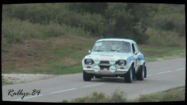 Rallye du Mistral 2012 - Ford Escort Mk1