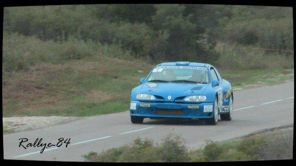 Rallye du Mistral 2012 - Autran/Renault Mégane Kit-Car
