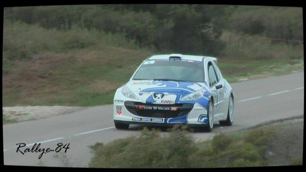 Rallye du Mistral 2012 - Ginhoux/Peugeot 207 S2000