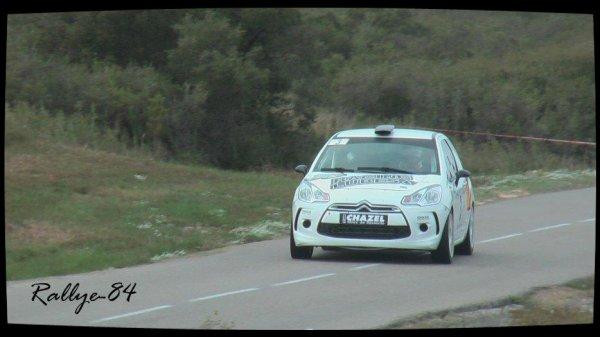 Rallye du Mistral 2012 - Consani/Citroën DS3 R3