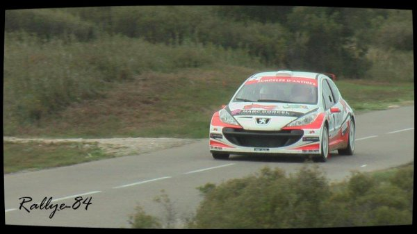 Rallye du Mistral 2012 - Fabre/Peugeot 207 S2000