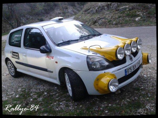 Téléthon de Murs 2012 - Renault Clio [1100e Article]
