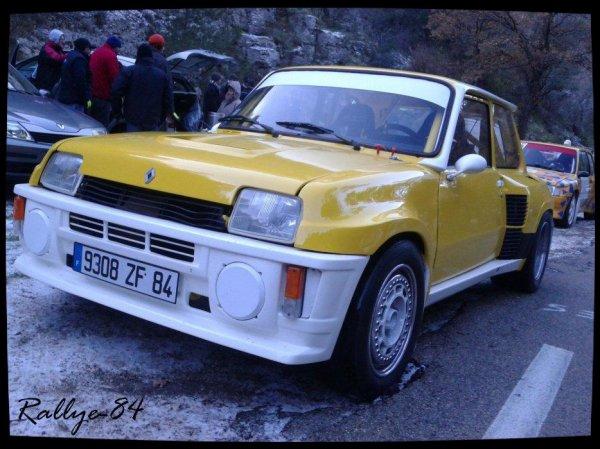 Téléthon de Murs 2012 - Renault 5 Turbo 2